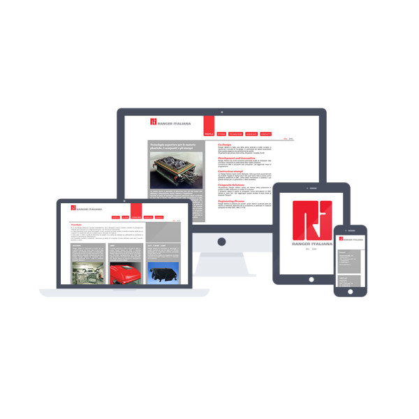 Ranger Italiana</br>web design